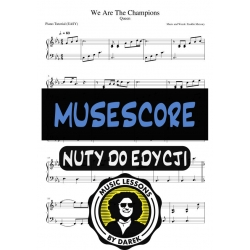 We Are The Champions MUSESCORE